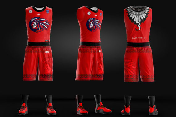765387fcab6 Chiefs Full Sublimation Basketball Jersey