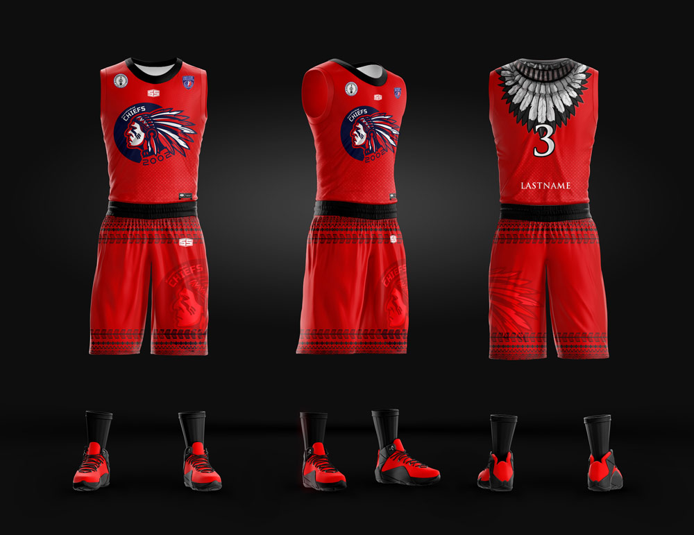 Chiefs Full Sublimation Basketball Jersey Philiprint