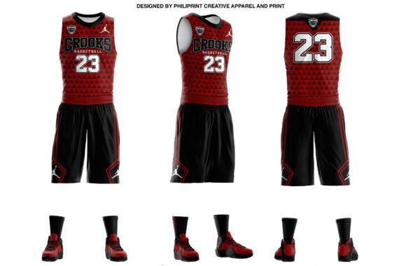 05241838f53 Crooks Full Sublimation Basketball Jersey