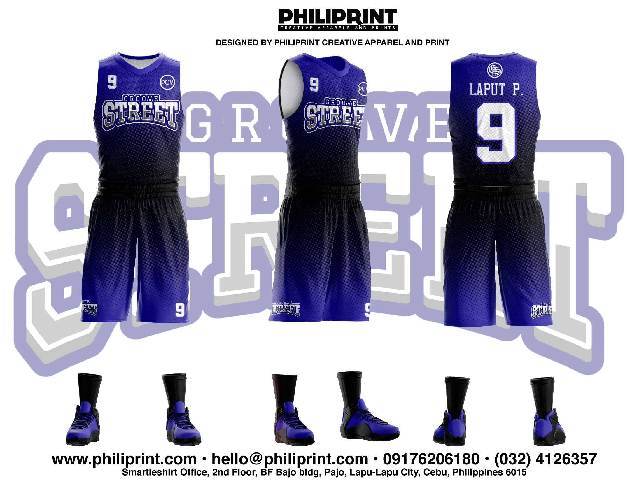 999c89922c2 Grove Street Full Sublimation Basketball Jersey – Philiprint